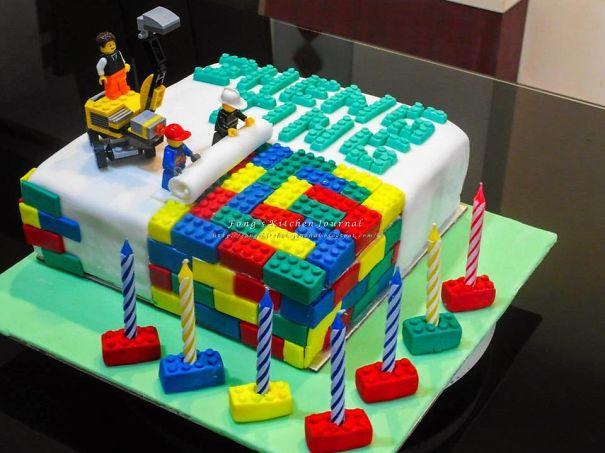 This Epic Lego Cake