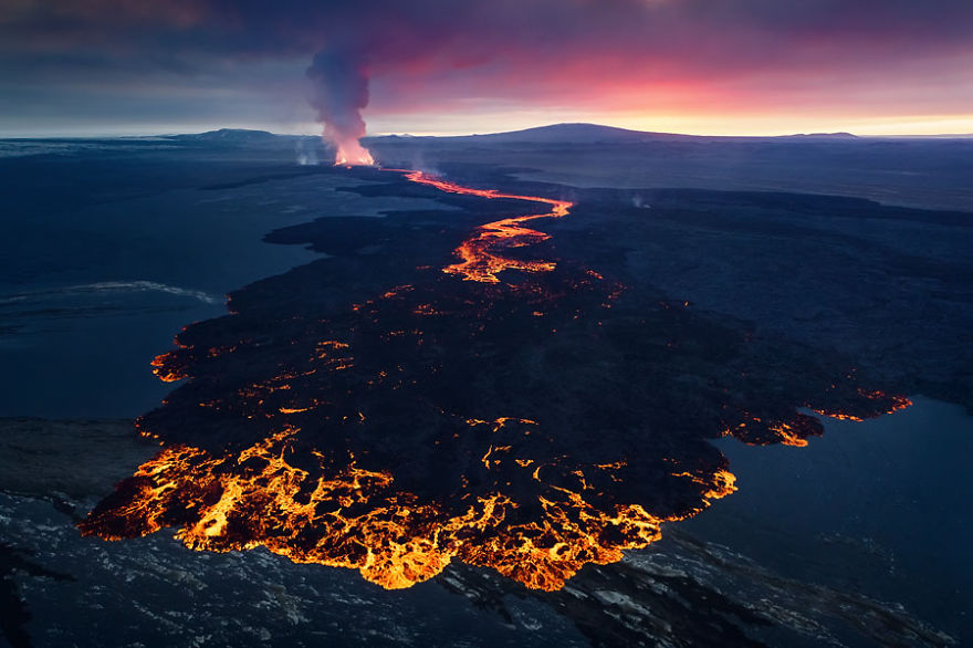 Just Came Back From Iceland Where I Captured Holuhraun S