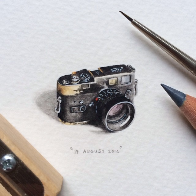 miniature-paintings-postcards-for-ants-lorraine-loots-1