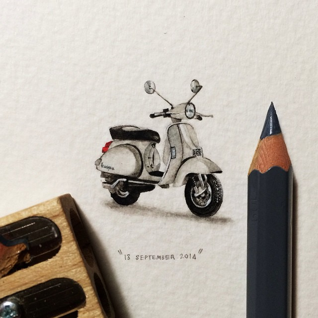 miniature-paintings-postcards-for-ants-lorraine-loots-11
