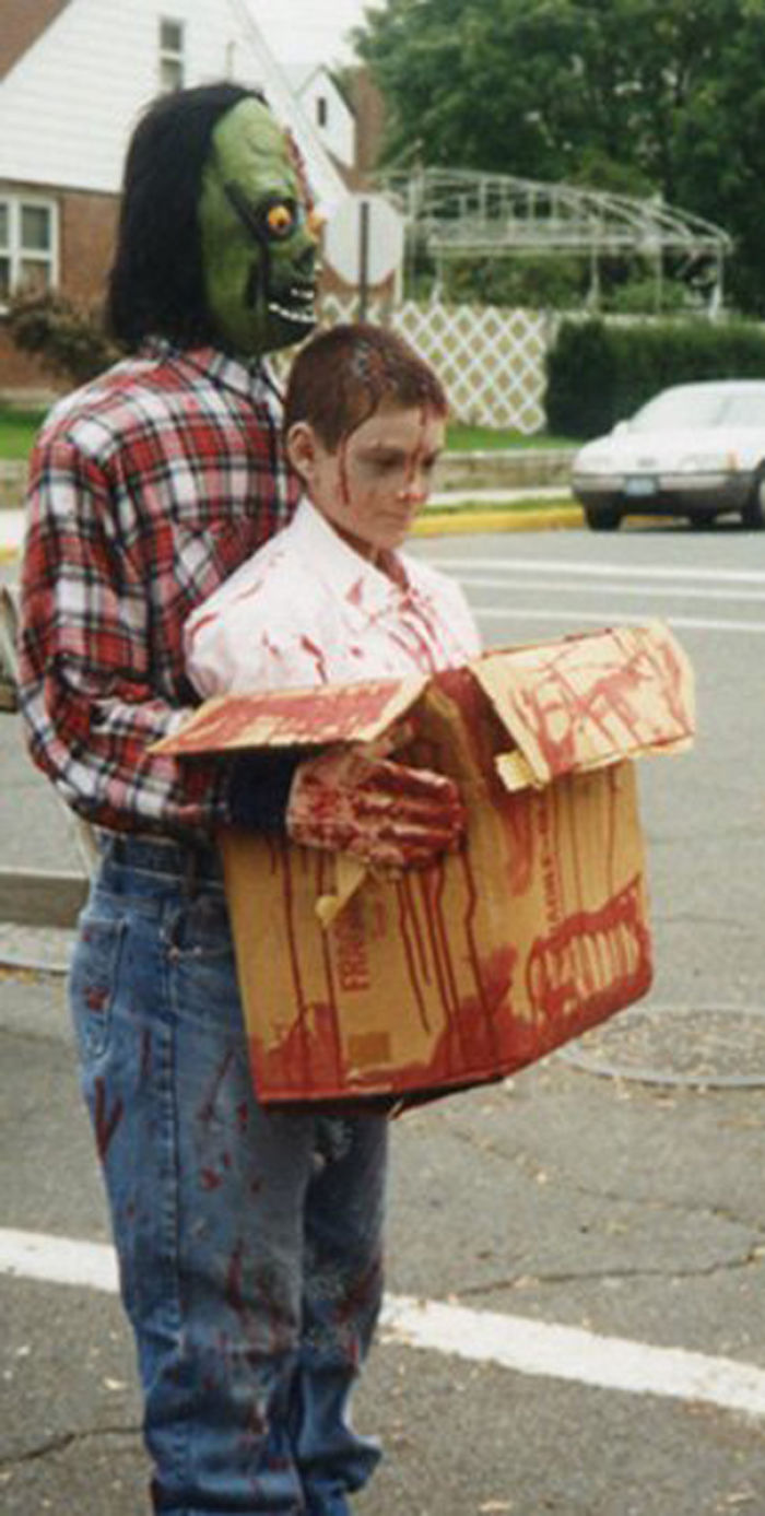 Monster Carrying Bloody Torso