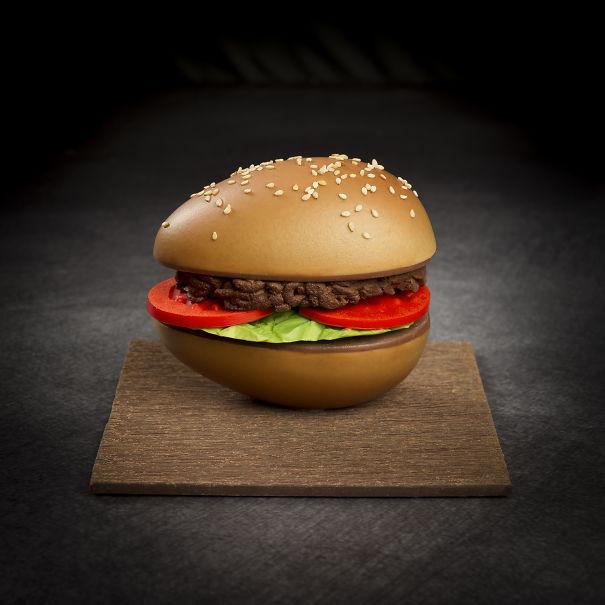 Chocolate Burger