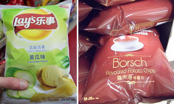 The Most Unusual Potato Chip Flavors From Around The World