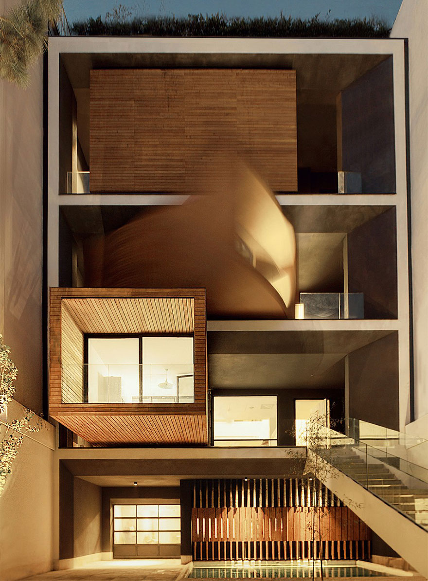 rotating-romms-house-tehran-1