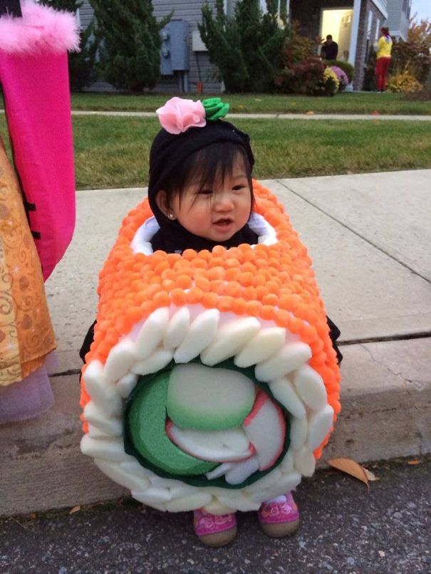 Cuttest Sushi Roll Ever ;)