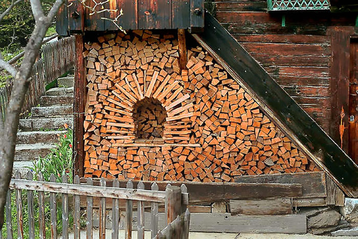These People Turned Log Piling Into An Art Form Bored Panda