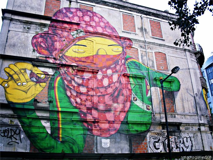 Os Gémeos In Lisbon, Portugal