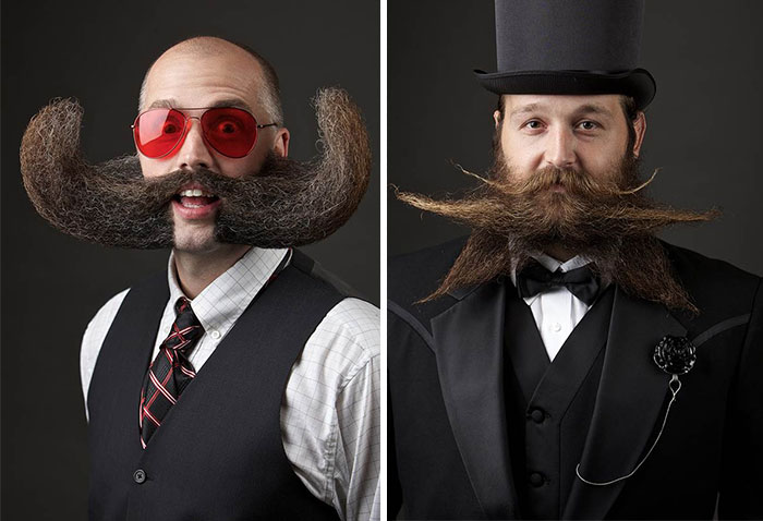 10 Of The Fanciest Entries From The World Beard & Moustache Championships 2014