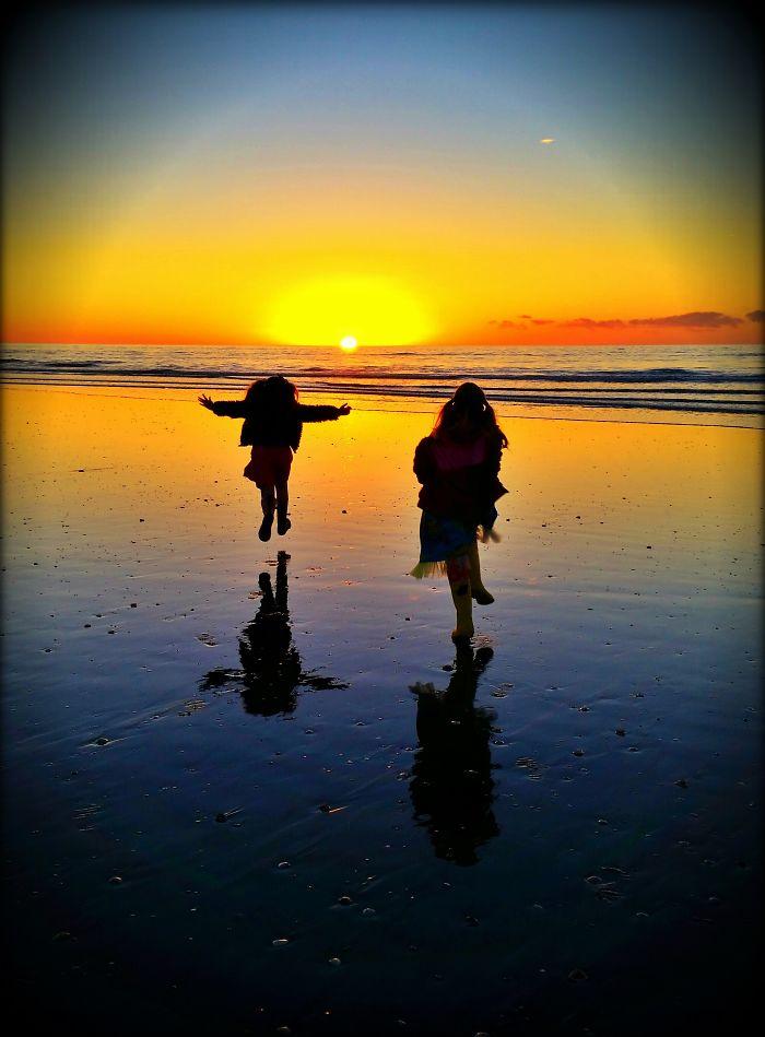 New Zealand...twin Sunset Joy