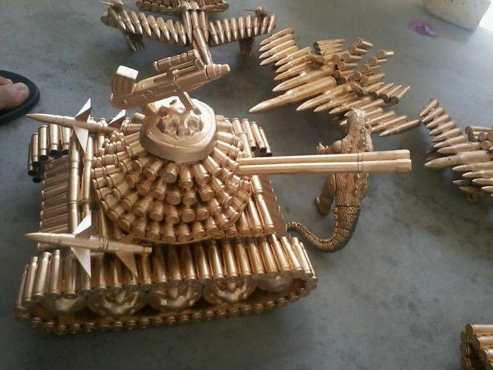 Tank And Aircrafts
