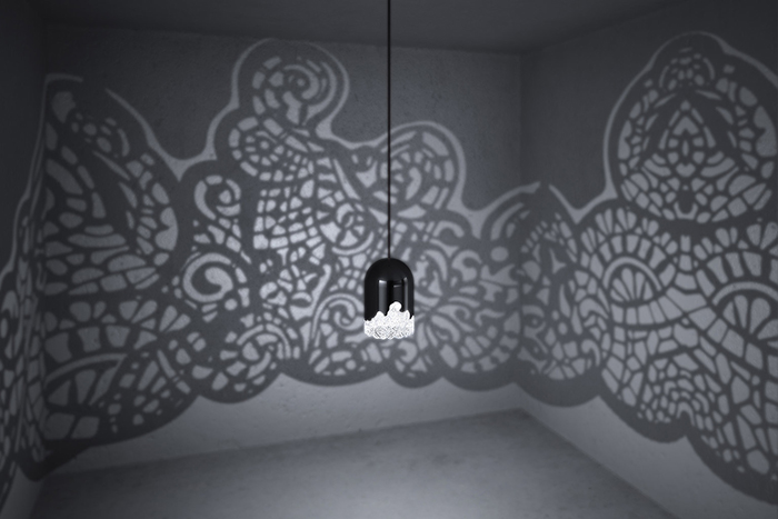 This 3D-Printed Lamp Will Cover Your Room In Elegant Lace Patterns