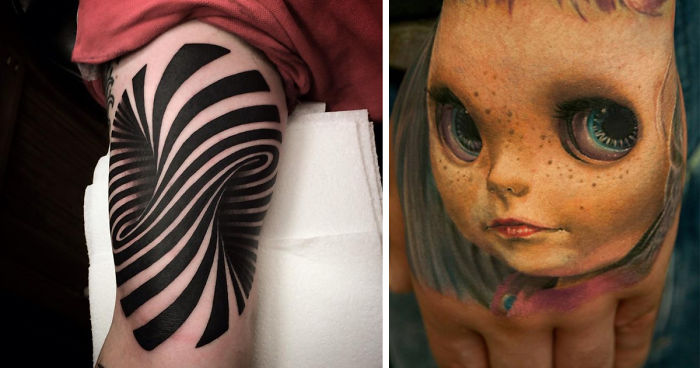 3058c5962 70 Crazy 3D Tattoos That Will Twist Your Mind | Bored Panda