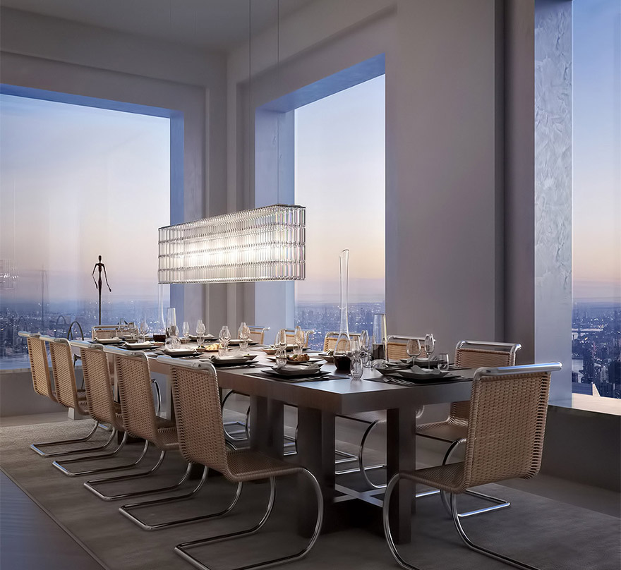 432 park avenue manhattan residential tower architecture 1 - Manhattan Penthouse Apartments