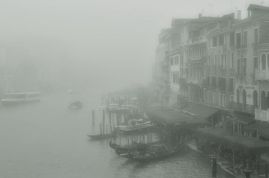 Foggy Venice, Italia