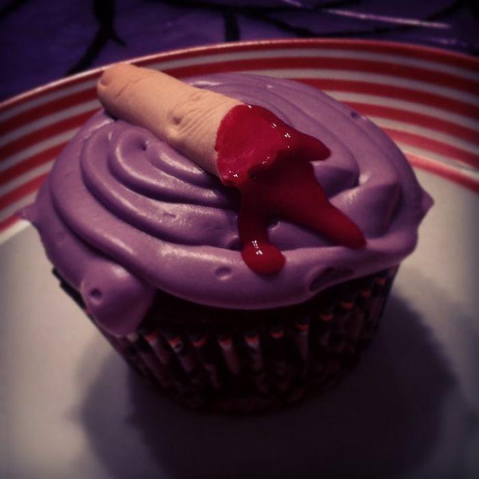Finger Cupcake !!!