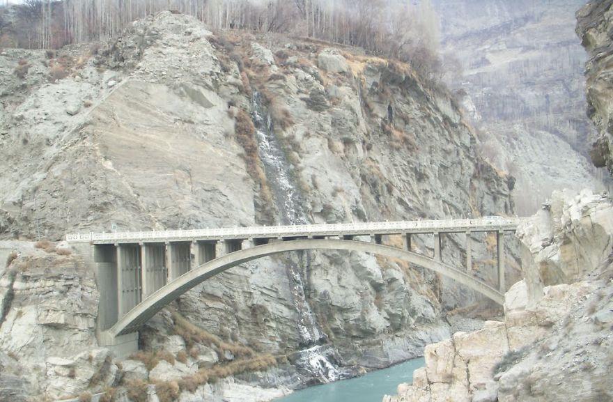 Ganish Bridge Hunza Pakistan
