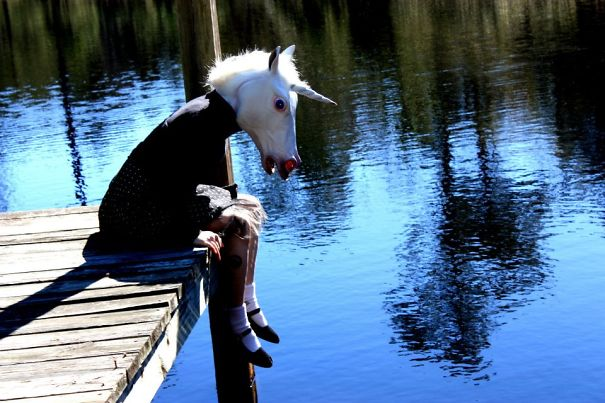 Lost Unicorn Child (up To No Good...)