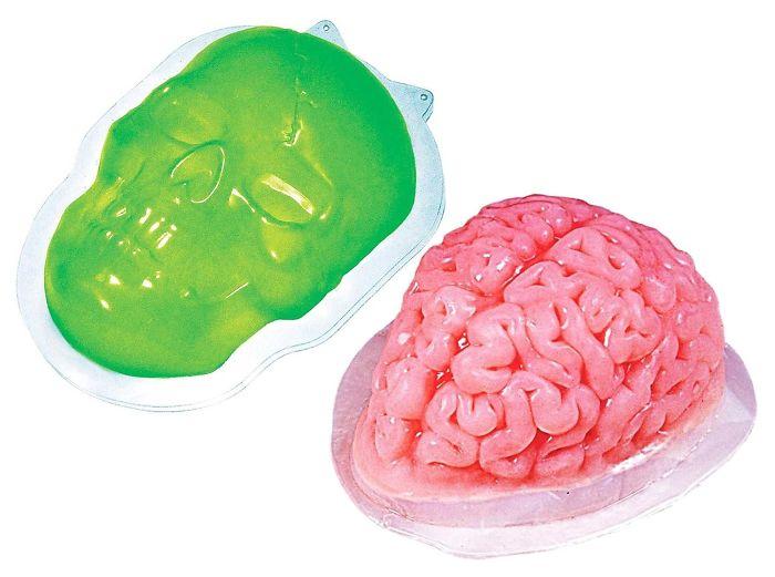 Gelatin Skull And Brain