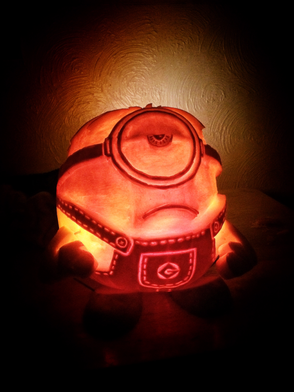My Minion Pumpkin