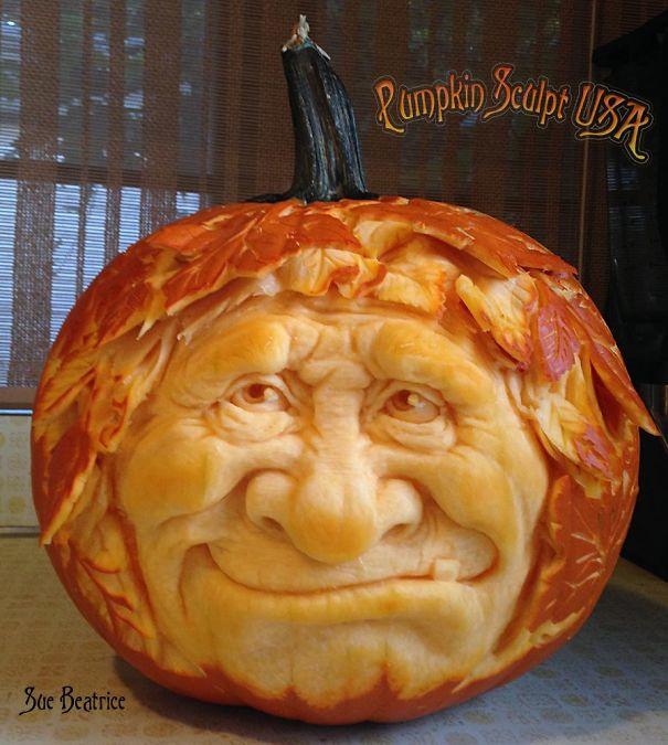 Lb pumpkin carving raises awareness of elephant