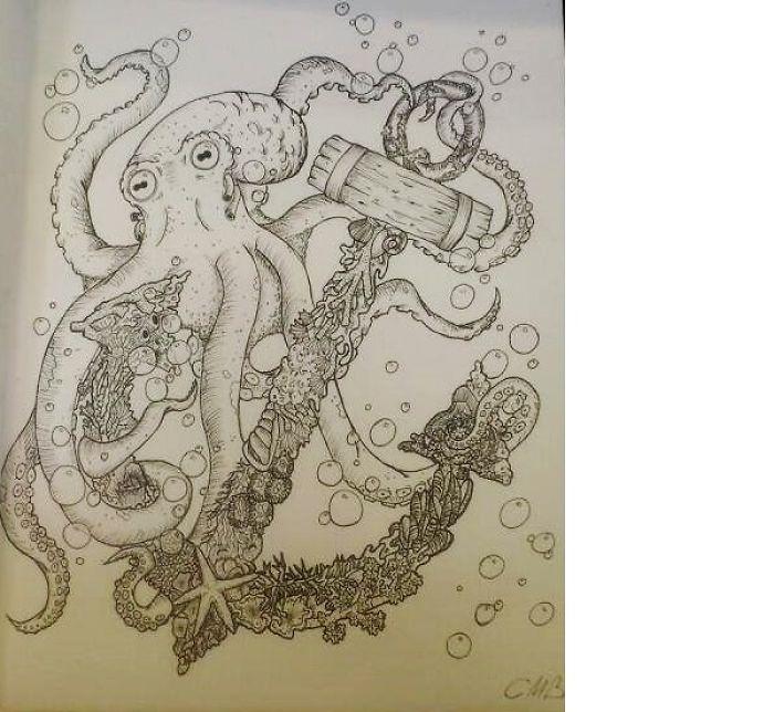Amazingly Detailed Drawing I Made
