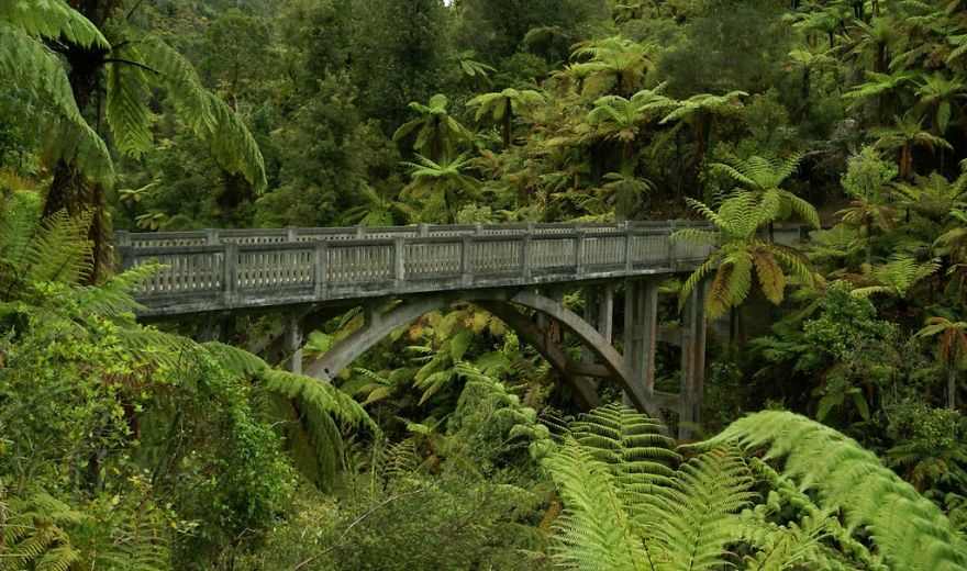 Bridge To Nowhere, Whanganui, New Zealand