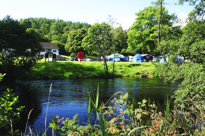 Cobleland Camping In The Forest, Scotland