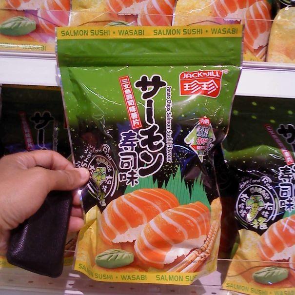 Salmon Sushi Flavour