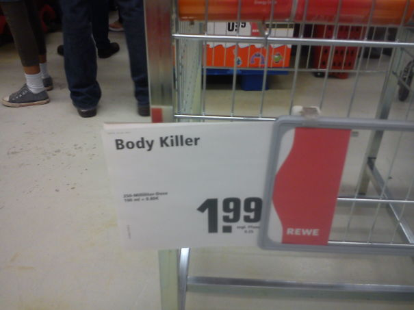 """Body Killer- The Product Advertised Here Was An Energy Drink Named """"body Fat Killer"""""""
