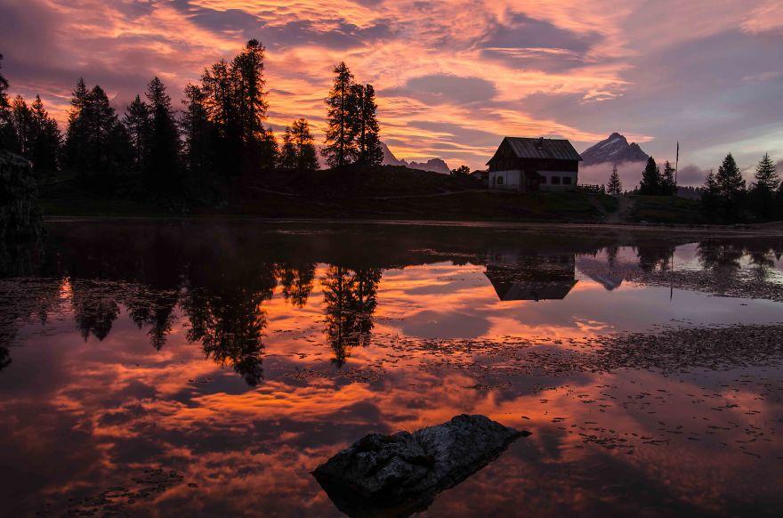 Dolomiti - Croda Da Lago - Italy
