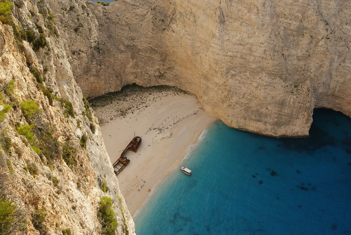 Zakynthos Wreck – Greece