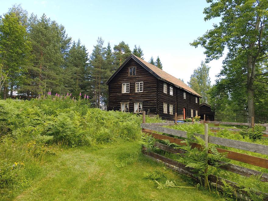 Old Timber House - Gjøvik, Norway.