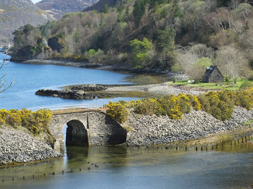 Craig Highland Farm Holiday Cottage Near Plockton, Scotland