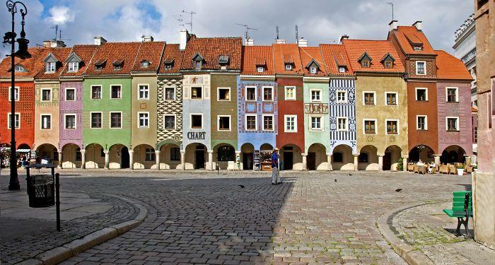 Poznan, Poland, Old Town (rynek)