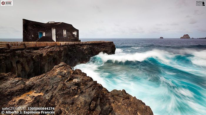 "El Hierro, Canary Islands, Spain. ""the Smallest Hotel In The World."""