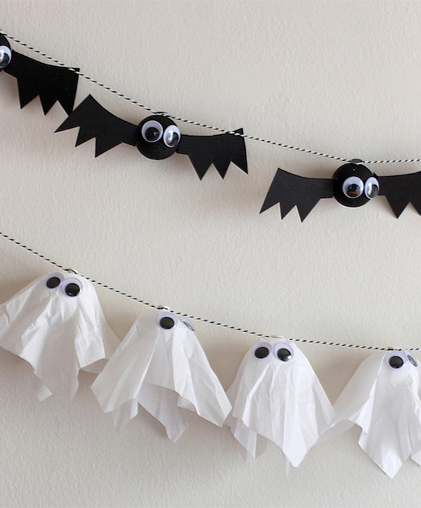 Ghost And Bat Garlands