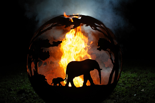 Africa Burning Fire Pit