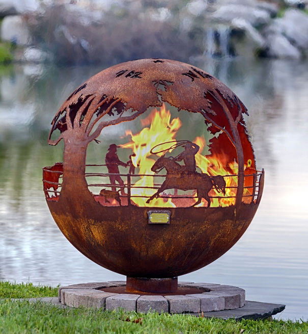 Rodeo Fire Pit
