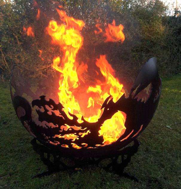 Dragon's Breath Fire Bowl