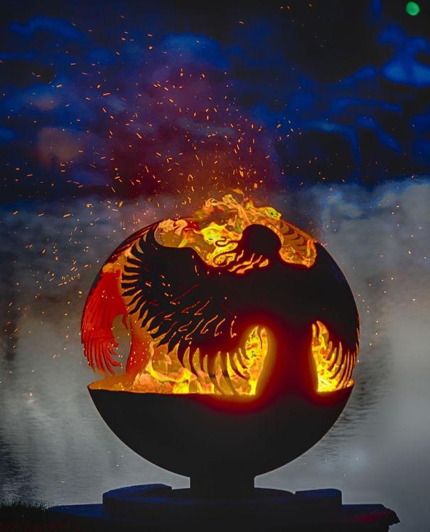 Angel's Dance Fire Pit