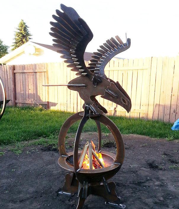 Eagle Fire Pit