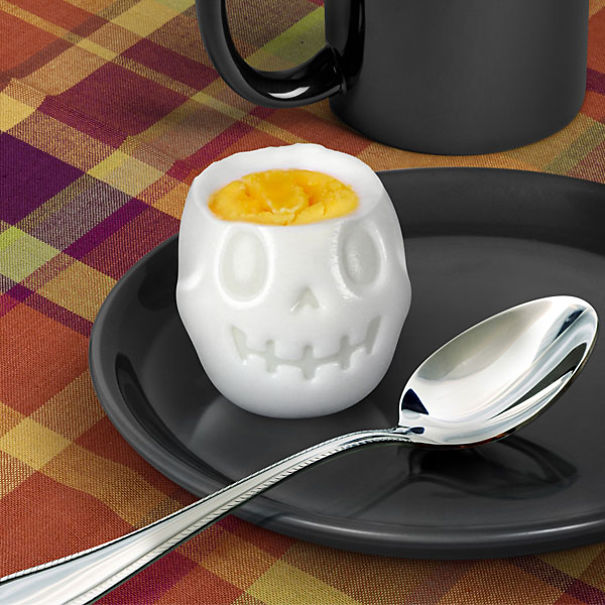 Skull Shaped Breakfast Egg