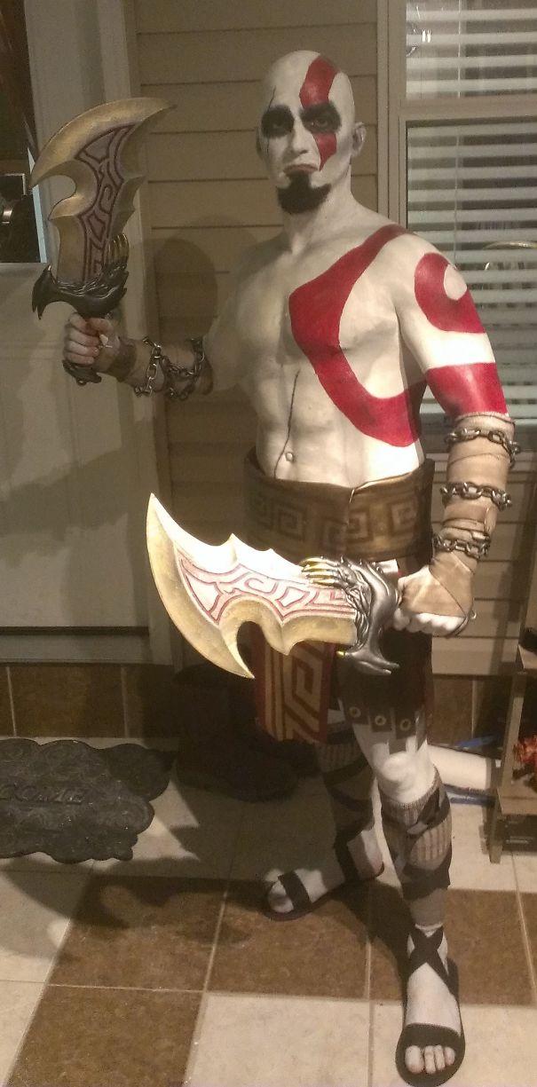"""Kratos """"god Of War"""""""