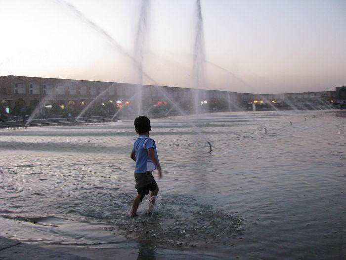Cooling Off, Isfahan, Iran