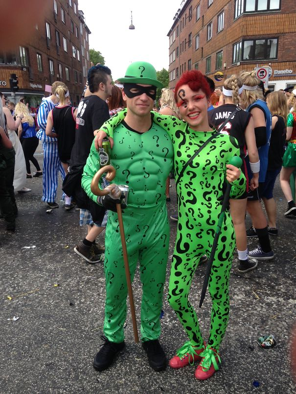 Mr. And Mrs. Riddlers