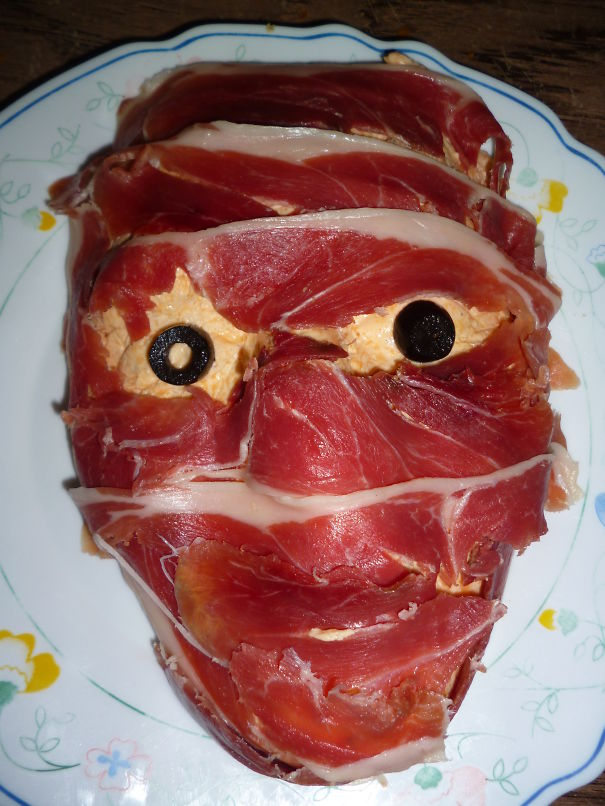Skinned Face Cheddar Dip