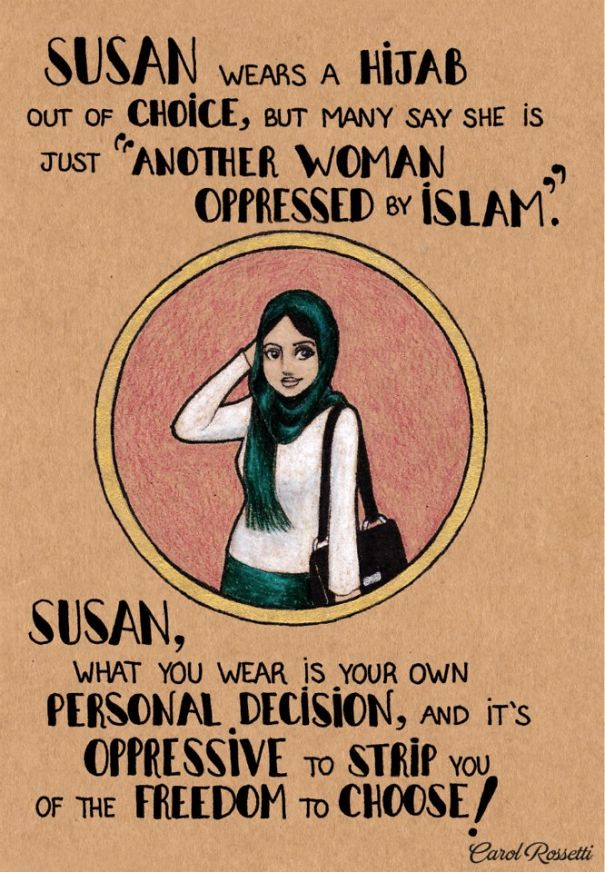 Powerful Illustrations Show Women How To Fight Gender Prejudices ...