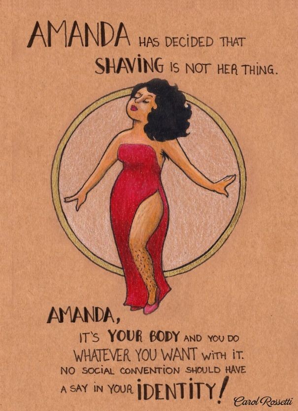powerful illustrations show women how to fight gender
