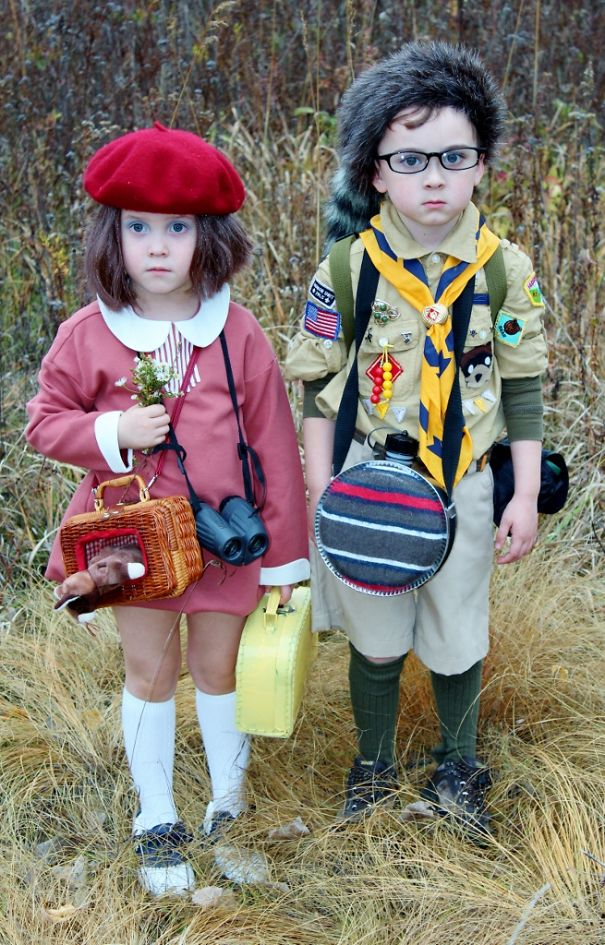 Sam And Suzy - Moonrise Kingdom