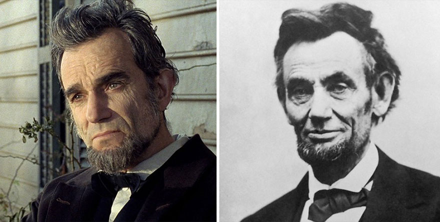 Daniel Day‑Lewis as Abraham Lincoln in Lincoln